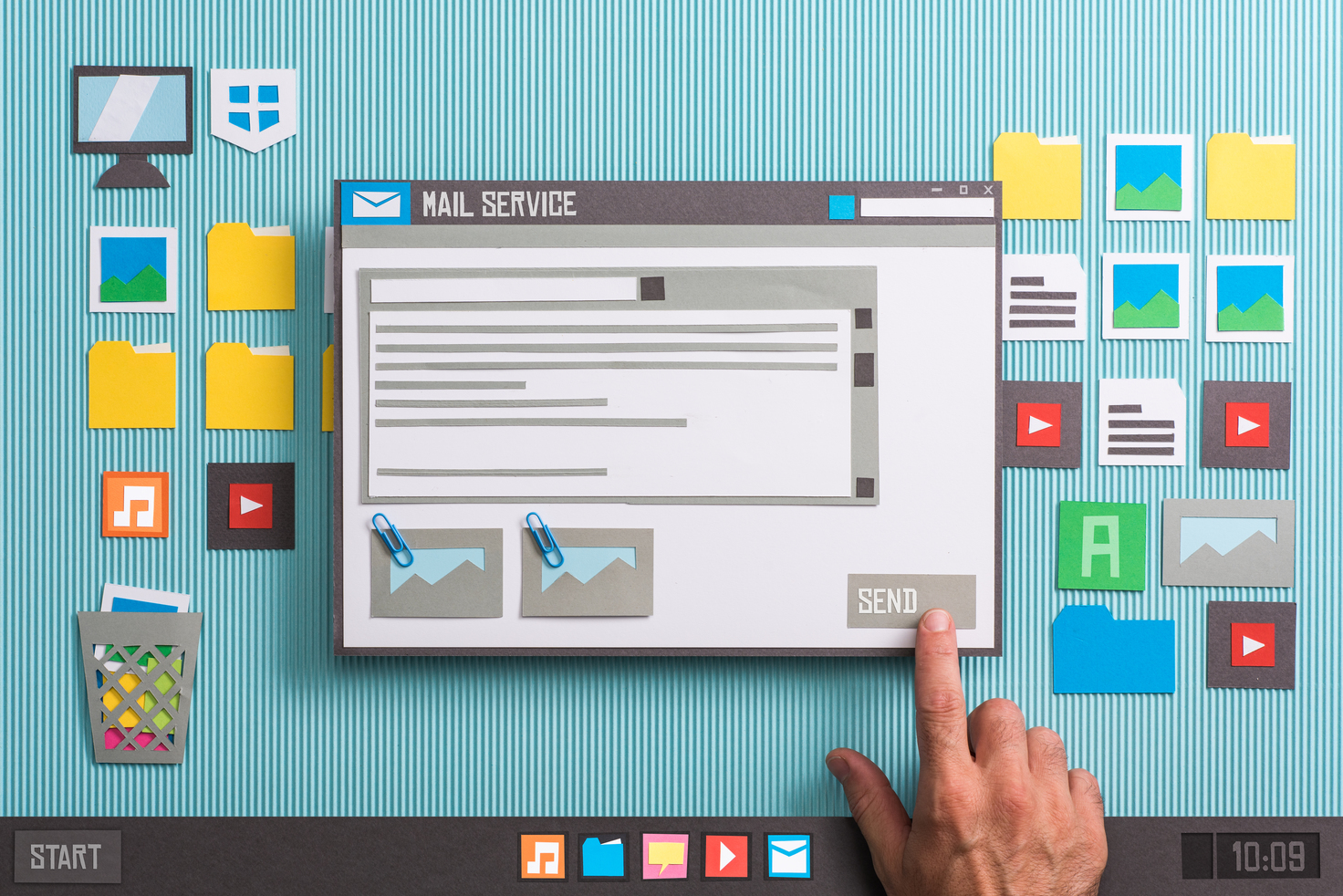 E-mailing, service We Love Web